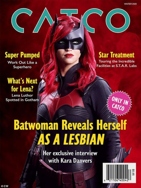 Kate Kane, AKA Batwoman, comes out as lesbian to Gotham City and the world on a magazine cover