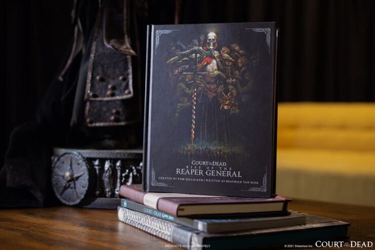 Court of the Dead Rise of the Reaper General book by Sideshow