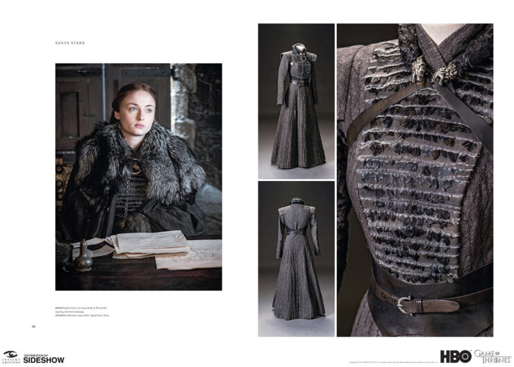 Game of Thrones The Costumes Sansa Stark page