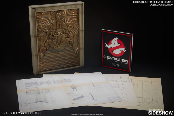 Ghostbusters Gozer Temple Collectors Edition book by Insight Editions