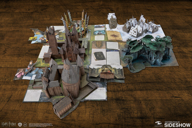 Harry Potter A Pop-Up Guide to Hogwarts by Insight Editions