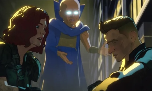 Natasha and Clint search for a program that can defeat Ultron but they struggle not to lose hope