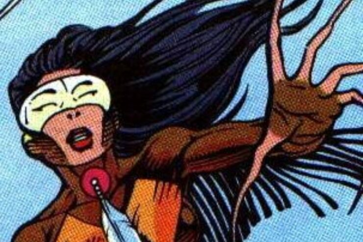 Wenonah Littlebird is a Cherokee super hero known as Owlwoman and a member of the Global Guardians