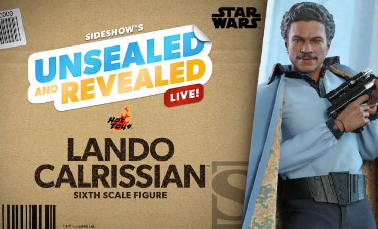 Up Next on Unsealed and Revealed: Lando Calrissian Sixth Scale Figure by Hot Toys