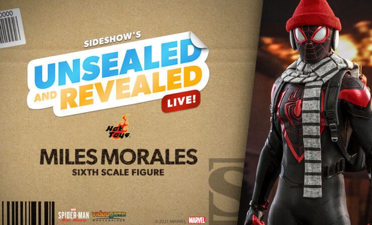 Up Next on Unsealed and Revealed: Miles Morales Sixth Scale Figure by Hot Toys