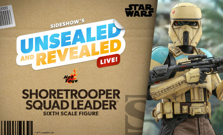 Up Next on Unsealed and Revealed: Shoretrooper Sixth Scale Figure by Hot Toys