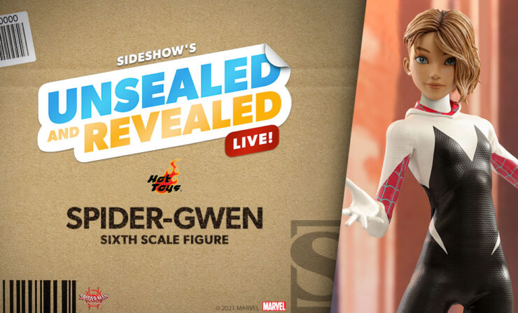 Up Next on Unsealed and Revealed: Spider-Gwen Sixth Scale Figure by Hot Toys