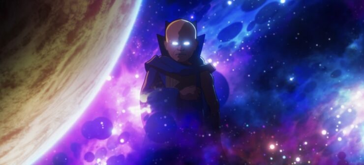In the season 1 finale of Marvel's What If...?, Uatu the Watcher breaks his vow of observation for the first time, and the multiverse is saved