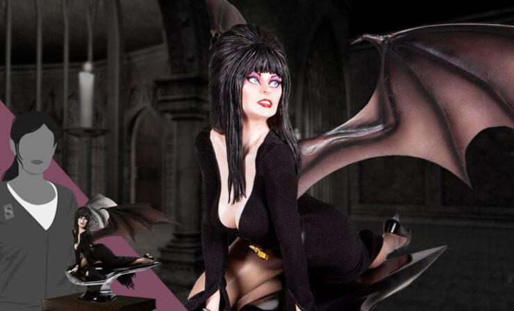 Elvira Masterpiece Statue by Enesco