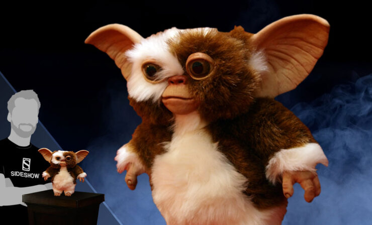 Gizmo Hand Puppet Prop- Trick or Treat Studios